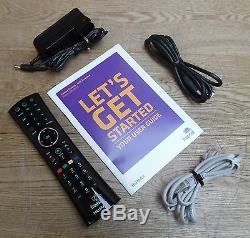 Humax HDR-1000S Freesat+ Digital 1080p Freeview TV Set Top Box 500GB HDD Black