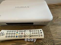Humax HDR-1010S 1TB Freesat HD Satellite TV Recorder Receiver Set Top Box White