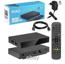 Infomir MAG 520w3 Built in Wifi 4K HEVC Dolby Sound Set Top Box