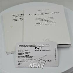 Iwc Auquatimer Automatik Refiw329001 Von 2016 Mit Box&papiere! Full Set! Top