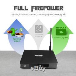 K7 Smart TV Box Android9.0 S905X2 4+64GB Set-top Box 2.4G+5G WiFi 1000M LAN O1N2