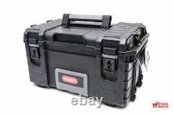 Keter Rigid Toolbox Full Set 3 Box Large Cart + Medium 22 + Small Organizer Top