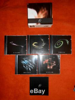 Klaus Schulze Contemporary Works 2 very rare 5 CD box set in top condition
