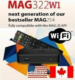 LOT NEW MAG322W1 MAG 322 W1 SET TOP BOX built-in Wi-Fi Multi Pack 1,2,4,10