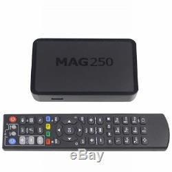 MAG 250 IPTV SET TOP BOX Streamer Multimedia player Internet + Wlan Stick + HDM