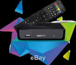 MAG 250 Wlan BOX Player IPTV Internet TV Box SET TOP Multimedia USB HDMI HDTV
