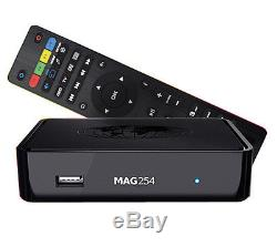 MAG 254 IPTV Receiver Multimedia Player SET TOP BOX Full HD