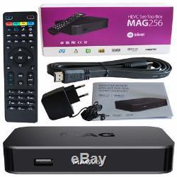MAG 256 Genuine Infomir Set-Top Box 12 Months IPTV/OTT HD + EPG TVGUIDE UK SALE