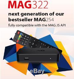 MAG 322 Infomir iptv set top box