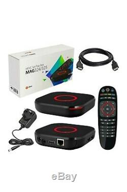 MAG 324 SET-TOP BOX12 Months Package installed Plug & Play