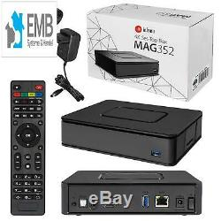 MAG 351/352/322 Original Infomir / HB-DIGITAL IPTV Set TOP Box Linux