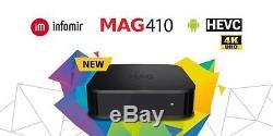 MAG 410 android iptv set-top box infomir