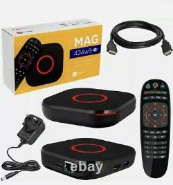 MAG 424w3 4K LINUX BASED SET-TOP BOX