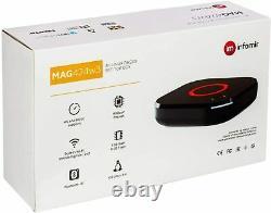 MAG 424w3 with built-in dual band WiFi Genuine Infomir HEVC 4K IPTV Set Top Box