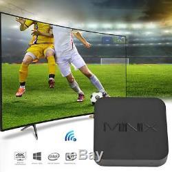 MINIX NEO Z83-4 Smart TV Set Top Box Windows10 Quad Core 4G+32G Multimedia 4K TF