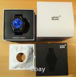 MONTBLANC SUMMIT schöne SMARTWATCH in Box, 42 mm TOP-Zustand, FULL-SET sehr EDEL