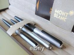 MONTBLANC, schönes SCHREIBSET in BOX, 2 Kugelschreiber + 1 Füller, TOP-Zustand