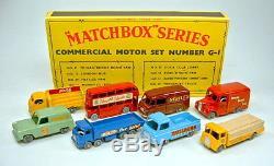 Matchbox G-1 Commercial Vehicle Set Gift-Set 1960 top