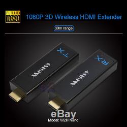 Measy W2H Nano 30M 100FT Wireless 1080P HD Transmitter Kit for Set Top Box HDTV