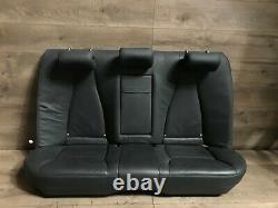 Mercedes Benz Oem W220 S430 S500 S55 Rear Seat Bench Cushion Set Black 2003-2006