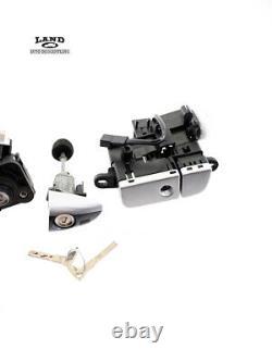 Mercedes R230 Sl-class Key Set Lock Set Driver Front Door Trunk Lock Glovebox