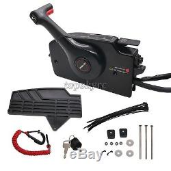 Mercury Outboard Remote Control Box 8 Pin Boat Motor Right Side Cable Set SZ top