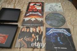 Metallica LTD EDT Box set Vinyl Very Good, Sleeve ware on top Rare Great Price