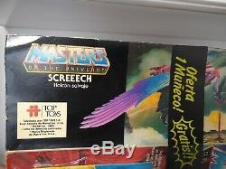 Motu Rare Top Toys Argentina MAN E FACES set still moc with screeech box vintage