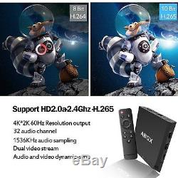 NEW Faster Infomir ABox IPTV Set-Top Box Media Streamer FULL HD TV 3D Android HQ