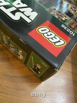NISB LEGO Star Wars 10236 Ewok Village Retired Rare Top Box condition