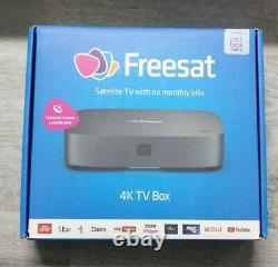 New FREESAT UHD-X Smart 4K Ultra HD Set Top Box