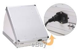 NiceFoto Fotostudio-Set-Fotobox-Fotozelt- Ink. Alukoffer und Beleuchtung. Top