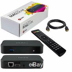 ORIGINAL and POWERFUL MAG 256W1-INFOMIR Media IPTV Set-Top Box BUILT IN WiFi