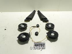 Original BMW 2er F45 Set Lautsprecher Hochton Mittelton Eckblende Harman Kardon