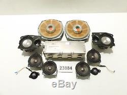 Original BMW 7er E65 E66 Harman Kardon Lautsprecher Set komplett mit Verstärker