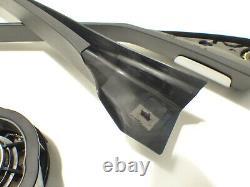 Original BMW X5 F15 F85 Set Abdeckung Fensterrahmen Lautsprecher Bang & Olufsen