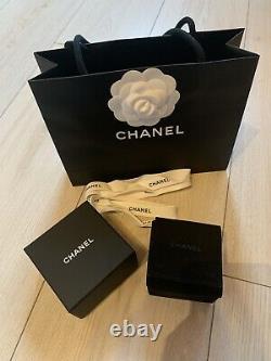 Original Chanel Ring 100% Authentic Box Set TOP Gr. 54 wie NEU