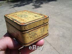 Original vintage GM Cadillac Lasalle automobile Bulb lamp kit box tin Light set