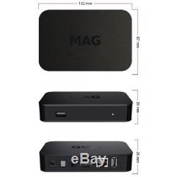 PACKAGE OF 4 NEW MAG322W1 IPTV SET ON TOP BOX build-in wifi update for MAG254