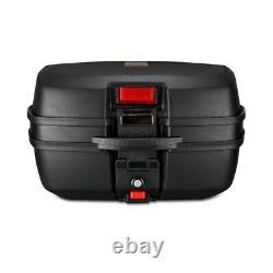 Panniers Set + Top Box for Suzuki SV 1000 / S / 650 / S SCT6 black