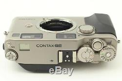 Perfect SETALL TOP Mint in BoxContax G2 + C. Zeiss Lens 28 45 90 + TLA200 Japan