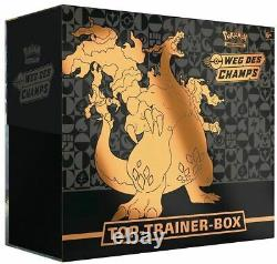 Pokemon Top Trainer Box Weg des Champs Glurak Promo Set Deutsch Path NEU & OVP