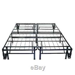 Priage 12-inch Euro Box Top Full-size iCoil Spring Mattress and Steel Foundation