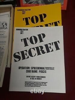 Rare TSR 7006 Top Secret RPG Boxed Set Plus 6 spy mission Module RPGA gift game