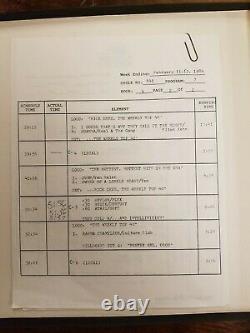 Rick Dees' Weekly Top 40 Feb 10, 1984 4LP Box Set Michael Jackson Madonna Police