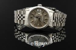 Rolex Datejust Full Set Ref 16030 Box&papers ID 7934 Topzustand Von Luxus4you