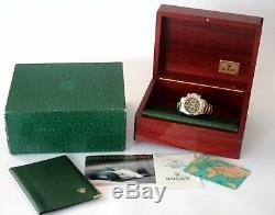 Rolex Daytona Stahl/18k. Gold Ref. 16523 Box&papiere Full Set Top Zustand