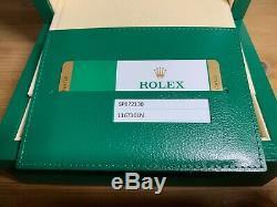 Rolex GMT Master 2, absoluter Top-Zustand, Full Box Set, Garantiekarte, 116710LN