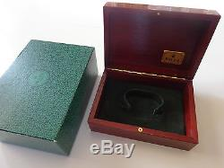 Rolex Mahogany Box Excellent / Top Condition with Outer Box set