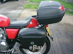 Royal Enfield 535 Continental GT Full Luggage set Panniers Top Box Rack